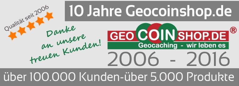 10 Jahre Geocoinshop.de
