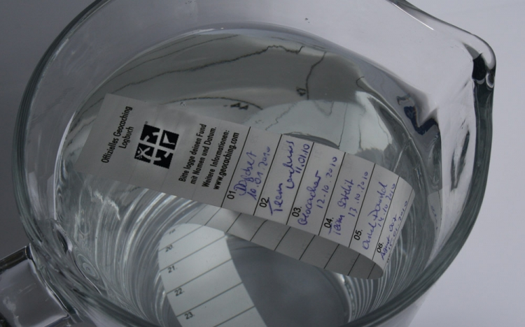Logstreifen - Wasserfest - auch unter Wasser stabil