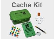 Geocaching Cache Kits für das Legen von Geocaches