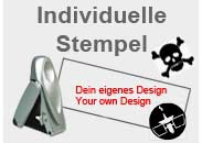 Individuelle Geocaching Stempel