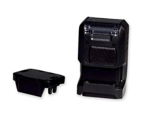 Geocaching-Stempel Printy Mini verriegelt