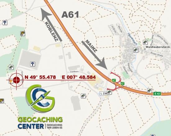 Geocaching-Center-Karte