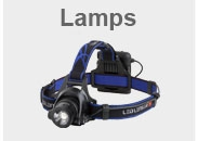 Lamps for Geocaching