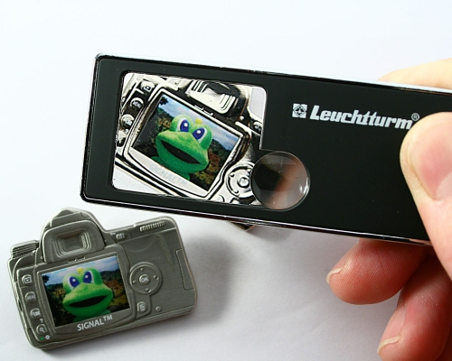 5 in 1 Multi-Function Pocket Magnifier Leuchtturm 2.5 x Magnifier