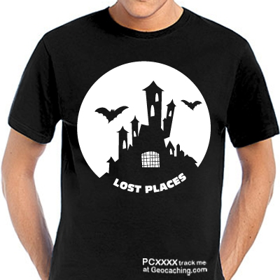 Lost Places - Geocaching T-Shirt