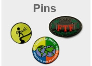 Geocaching pins in many colors for Geocachers