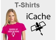 Geocaching T-Shirt mit tollen Geocaching Motiven