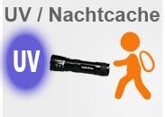 Geocaching UV Lampen für Nachtcaches